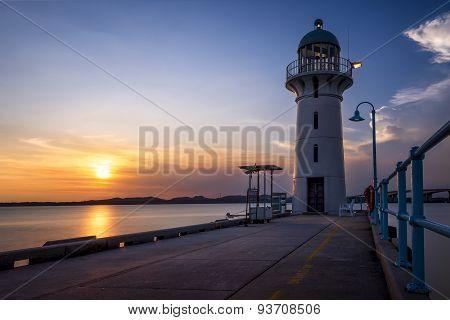 Raffles Marina Lighthouse