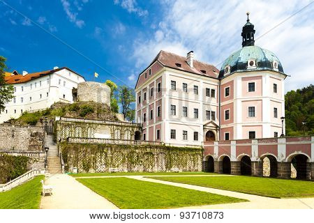 castle and palace of Becov nad Teplou, Czech Republic