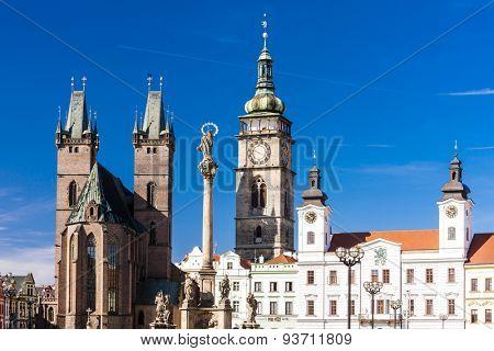 Large Square, Hradec Kralove, Czech Republic