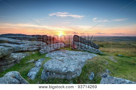 Moorland Sunset