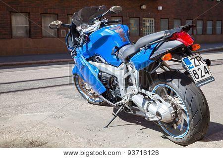 Bmw K1200 S Indigo Blue Sport Motorcycle