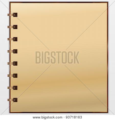 Vintage notepad