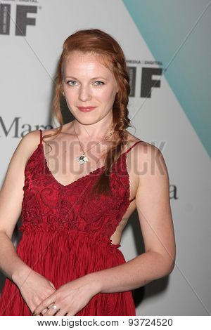 LOS ANGELES - JUN 16:  Emma Bell at the Women In Film 2015 Crystal + Lucy Awards at the Century Plaza Hotel on June 16, 2015 in Century City, CA
