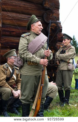 Old Soldier Of The Russian Army The First World War