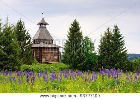Ancient Wooden Watchtower