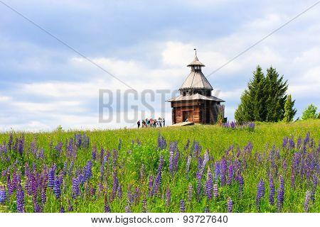 Old Wooden Watchtower
