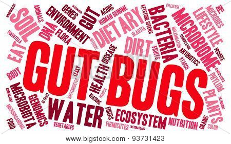 Gut Bugs Word Cloud