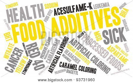 Food Additives Word Cloud