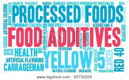 Food Additives Word Cloud