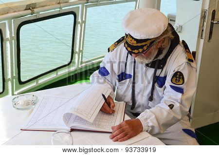 Ship Logbook Filling