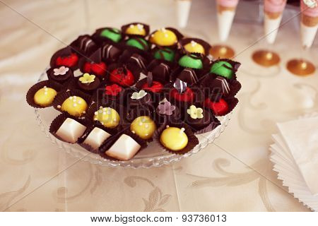 Colorful Small Cakes