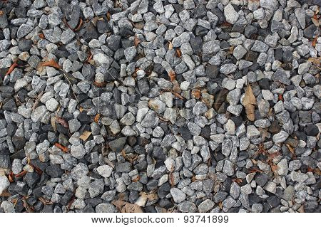 Crushed Stone,rock Texture Background.