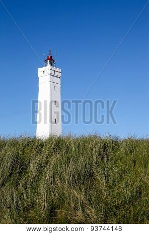 Blavand lighthouse in Denmark