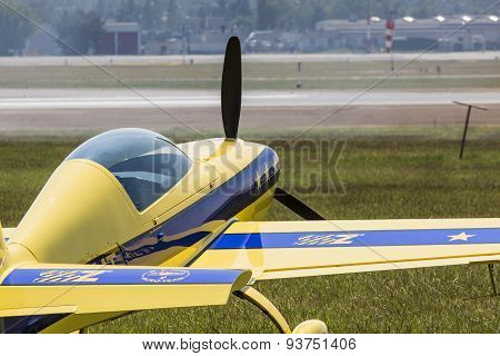 Poznan, Poland - June 14: An Extra 200 During Aerofestival 2015 Event On June 14, 2015 In Poznan, Po