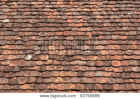 Old rood tiles