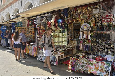 Souvenirs Stalls