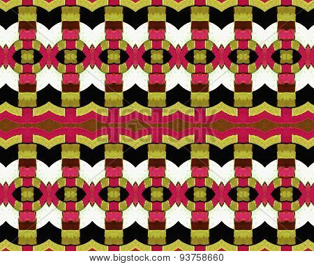 Grunge Seamless Modern Abstract Pattern