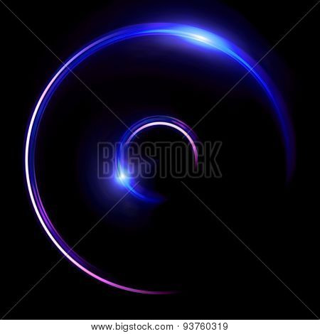 Blue Double Ring Flares