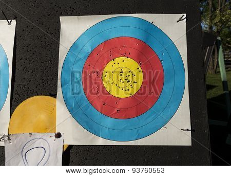 Used Archery Target