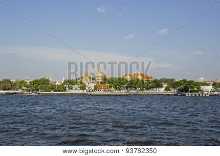 Chao Phraya River Is A Major River In Thailand, With Its Low Alluvial Plain Forming The Centre Of Th