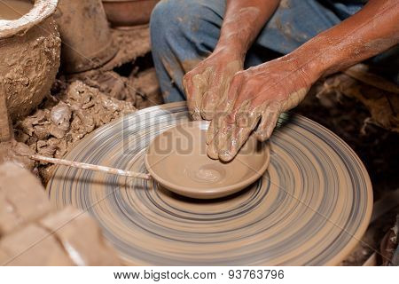 Hands Of Potter, Was Produced On Range Of Pot.
