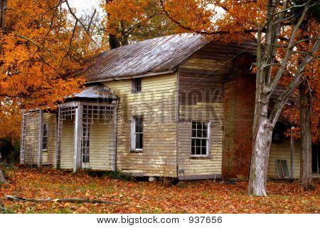 Condado de Wilson abandonded casa 1