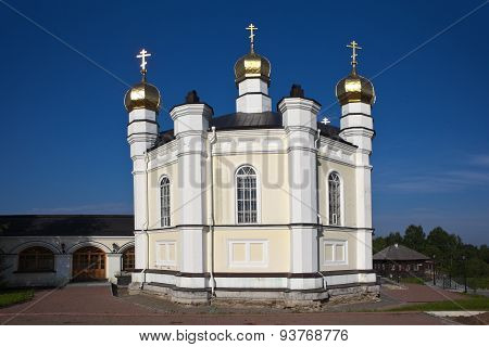 Merkushino. Church of St. Simeon Verkhoturye.