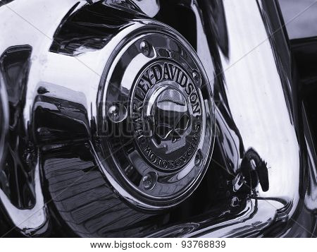 Detail of Harley - Davidson