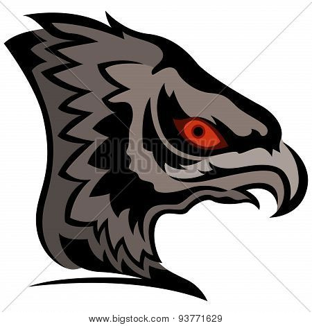 Head Of Cartoon Eagle