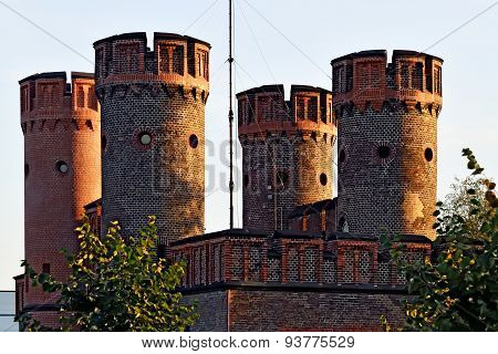 Friedrichsburg Gate On A Summer Evening, Kaliningrad, Russia