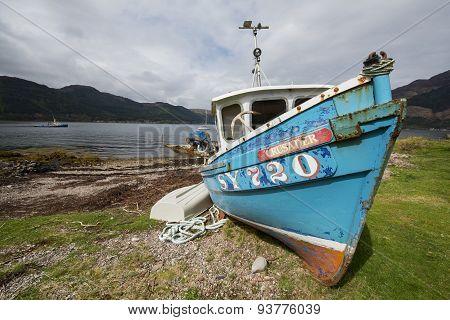 Loch Duich Ship Scotland