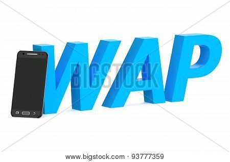 Wap Concept With Smartphone