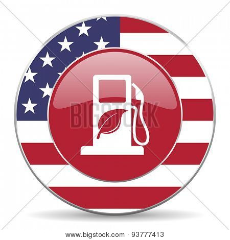 biofuel original american design modern icon for web and mobile app on white background