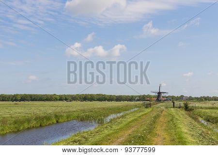 Mill Zwaantje In Friesland