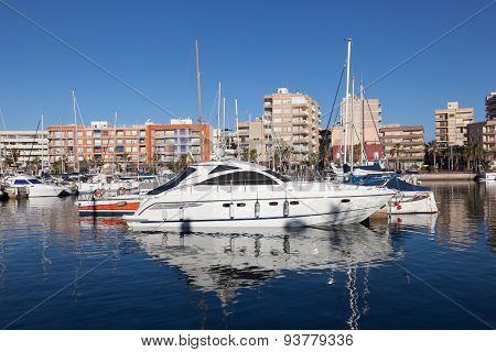 Marina In Puerto De Mazarron