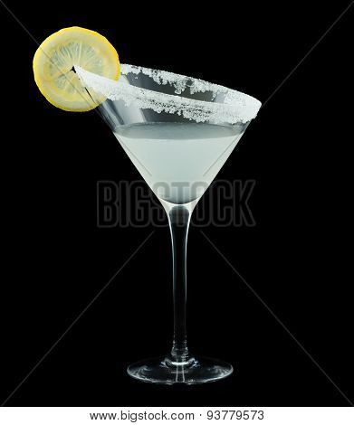 Lemon Drop Martini Cocktail