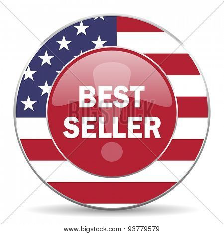 best seller american icon original modern design for web and mobile app on white background