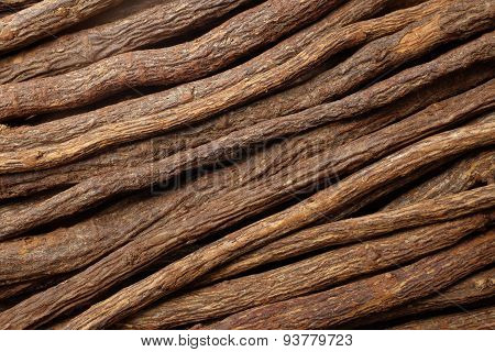 Liquorice Root Diagonal Background