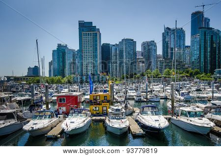 Waterfront in Vancouver, British Columbia