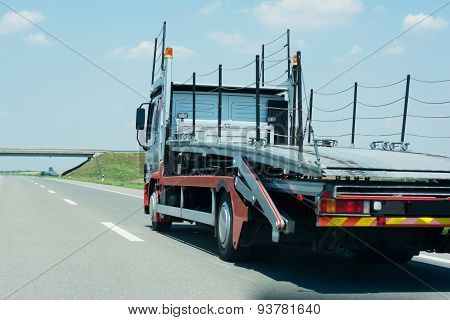 Truck On The High Way