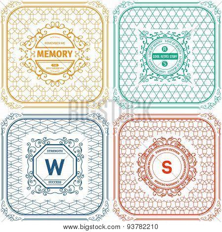 Vintage  Logo templates