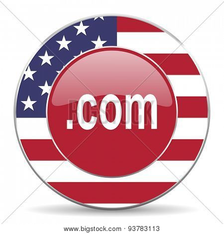 com american icon original modern design for web and mobile app on white background
