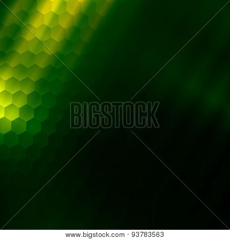 Green texture backdrop. Art illustration. Graphic color background. Design element. Structure.