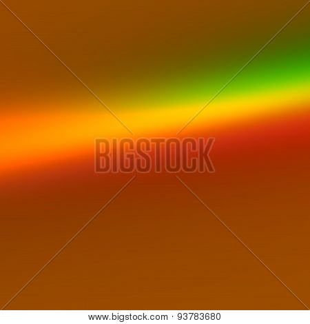 Colorful rainbow prism effect. Art illustration for business presentation. Blank background. Text.