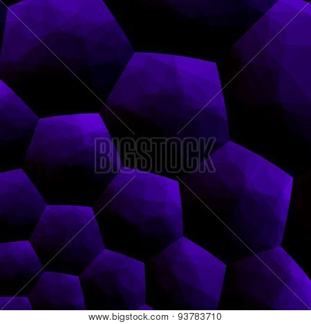 Abstract blueberry colored background blue computer illustration 3d pattern modern image design art.