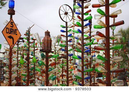 Bottle Sculptures