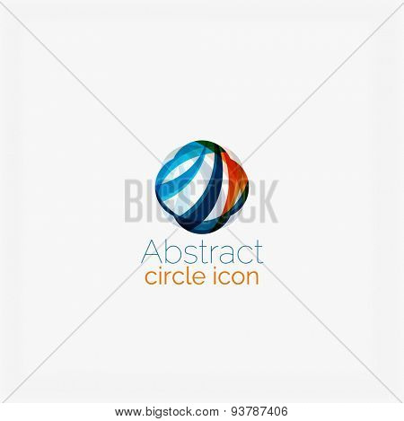 Abstract geometric logo concept. Universal for any idea