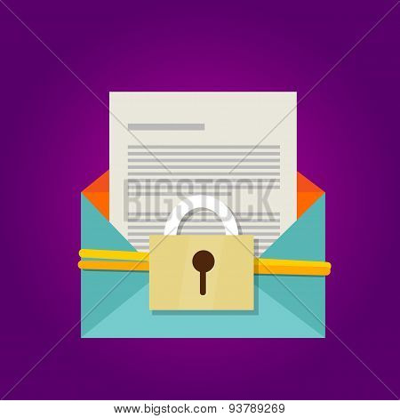 email secure document protection security hacking