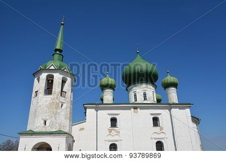 The Church Of St. John The Baptist On Malysheva Mountain