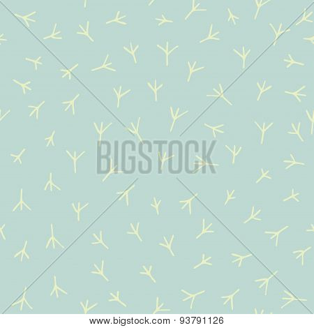 Trace of birds pattern